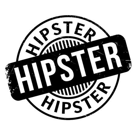 Hipster rubber stamp Illustration