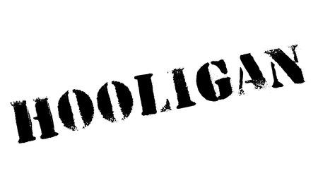 hooligan: Hooligan rubber stamp Illustration