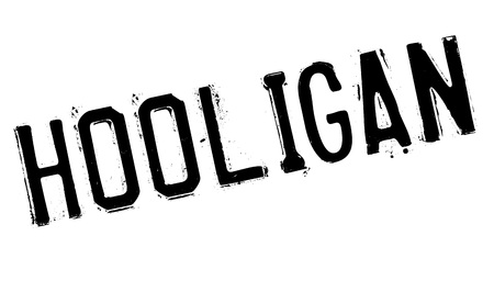 vicious: Hooligan rubber stamp Illustration