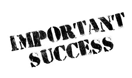 important: Important Success rubber stamp
