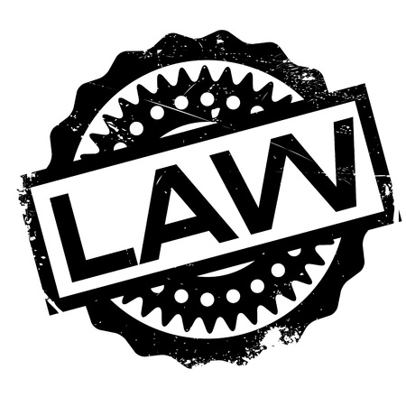 governing: Law rubber stamp