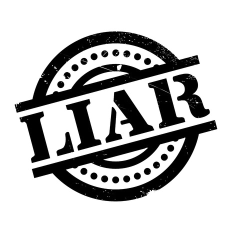Liar rubber stamp