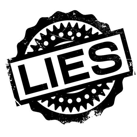 deceitful: Lies rubber stamp