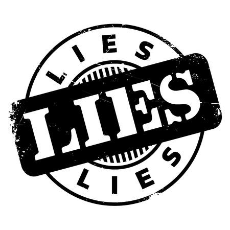 dishonesty: Lies rubber stamp