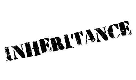 inheritance: Inheritance rubber stamp