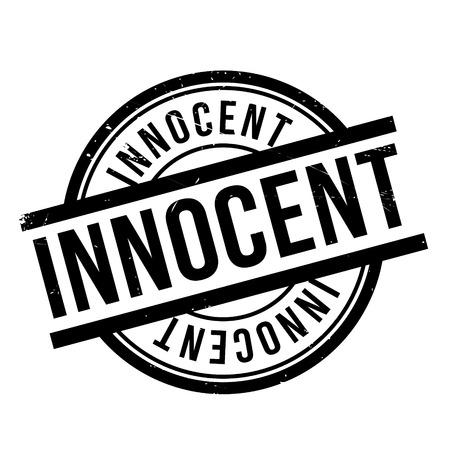 innocent: Innocent rubber stamp
