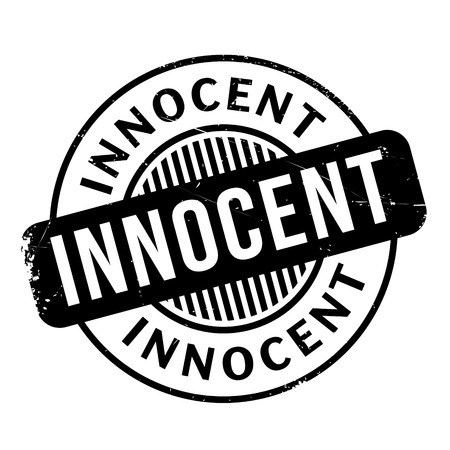 plead: Innocent rubber stamp