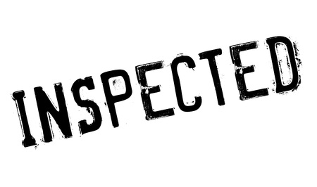 scrutinise: Inspected rubber stamp
