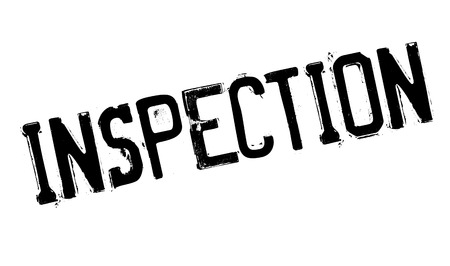scrutinise: Inspection rubber stamp