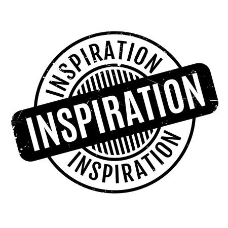 provoke: Inspiration rubber stamp Illustration