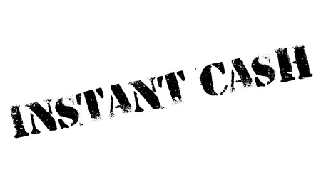 remuneration: Instant Cash rubber stamp