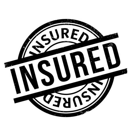 insure: Insured rubber stamp
