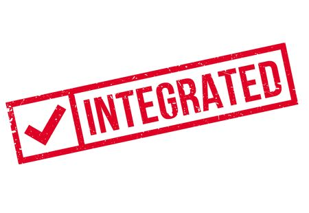 interspersed: Integrated rubber stamp
