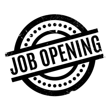 daily grind: Job Opening rubber stamp