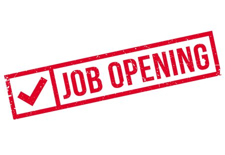 Job Opening rubber stamp