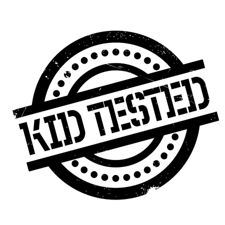 Kid Tested rubber stamp. Grunge design with dust scratches. Effects can be easily removed for a clean, crisp look. Color is easily changed.