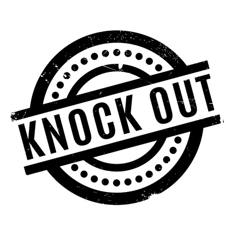 abolished: Knock Out rubber stamp. Grunge design with dust scratches. Effects can be easily removed for a clean, crisp look. Color is easily changed.