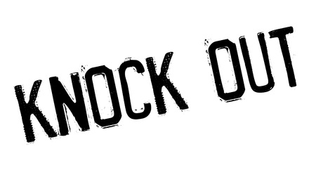 abolished: Knock Out rubber stamp