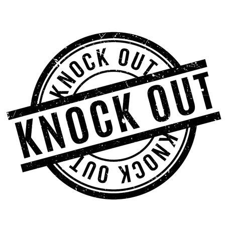 dissolved: Knock Out rubber stamp