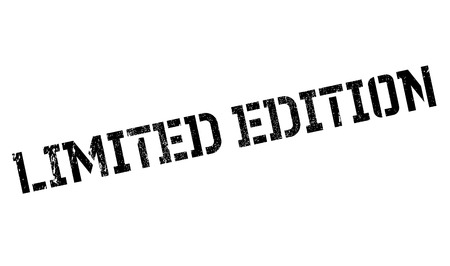 limited: Limited Edition rubber stamp Illustration