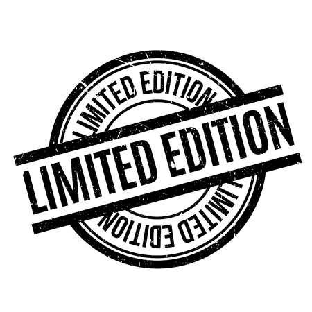 limited edition: Limited Edition rubber stamp Illustration