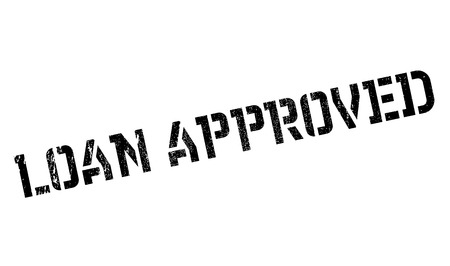 floater: Loan Approved rubber stamp