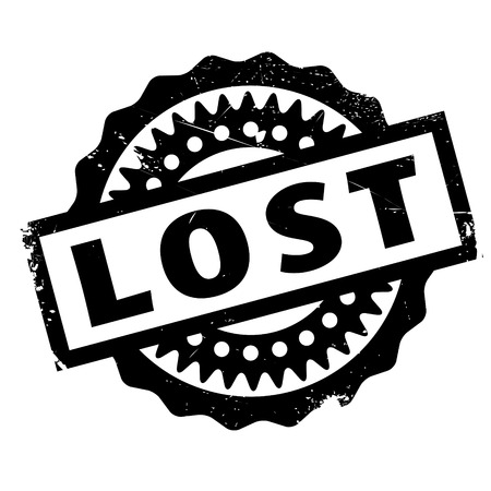 wasted: Lost rubber stamp