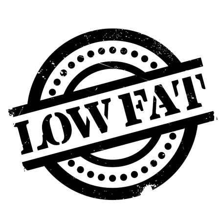 low fat: Low Fat rubber stamp