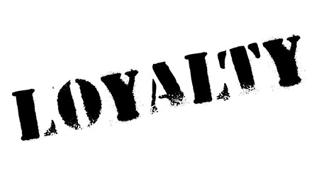 faithful: Loyalty rubber stamp