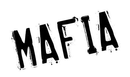 Mafia tampon en caoutchouc Vecteurs