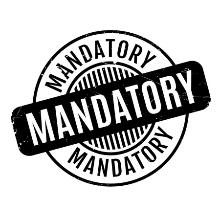 indispensable: Mandatory rubber stamp