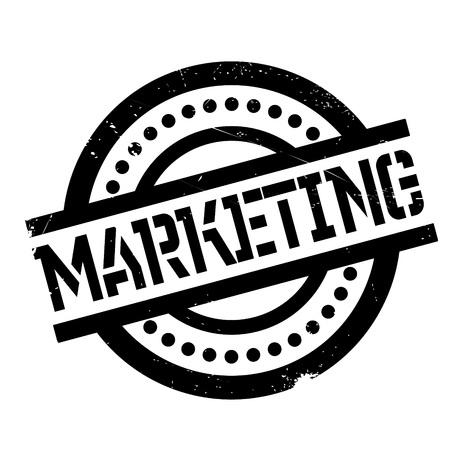 Marketing rubber stamp