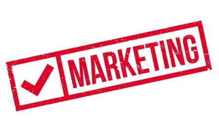 retailing: Marketing rubber stamp