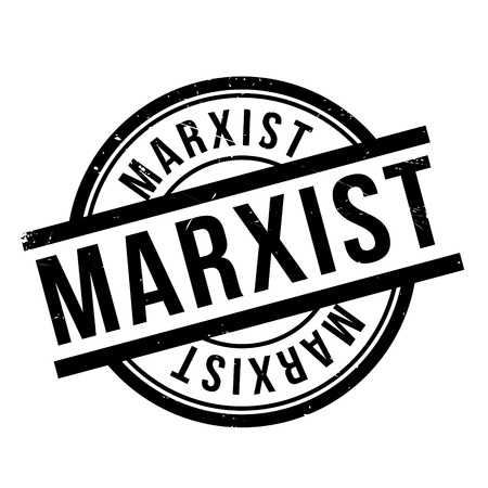 viewpoints: Marxist rubber stamp Illustration