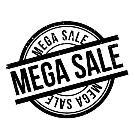 Mega Sale rubber stamp Çizim