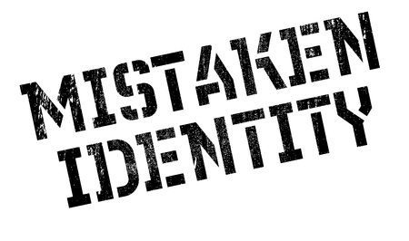 offence: Mistaken Identity rubber stamp