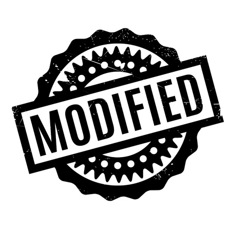 modified: Modified rubber stamp Illustration