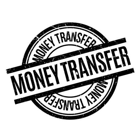 money transfer: Money Transfer rubber stamp