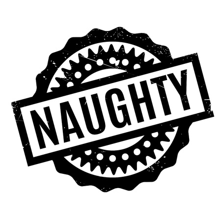 obsession: Naughty rubber stamp