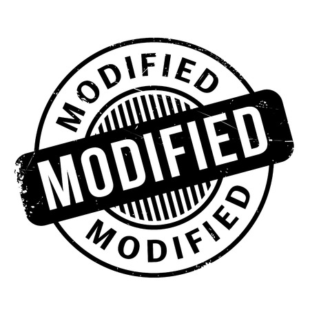 modified: Modified rubber stamp. Grunge design with dust scratches. Effects can be easily removed for a clean, crisp look. Color is easily changed.