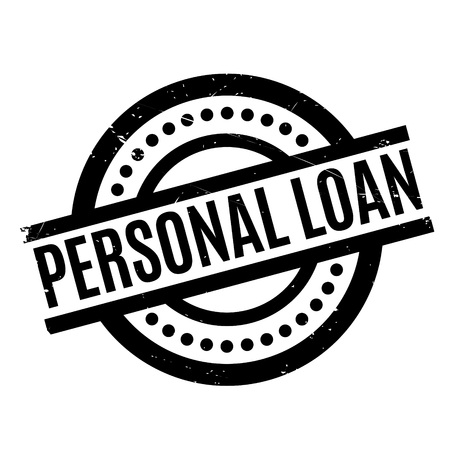 Personal Loan rubber stamp