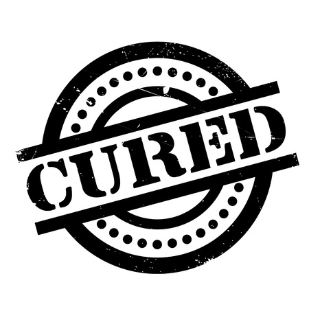 Cured rubber stamp. Grunge design with dust scratches. Effects can be easily removed for a clean, crisp look. Color is easily changed.