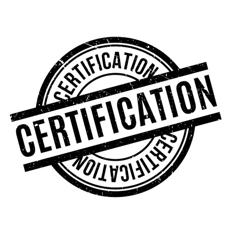 authentification: Certification rubber stamp. Grunge design with dust scratches. Effects can be easily removed for a clean, crisp look. Color is easily changed.