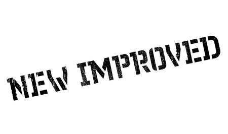 improving: New Improved rubber stamp