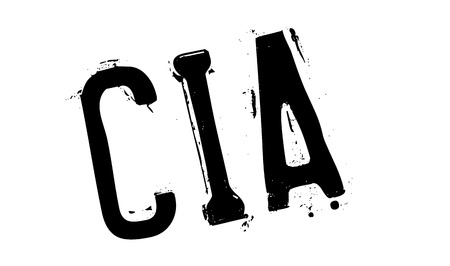 CIA: Cia rubber stamp. Grunge design with dust scratches. Effects can be easily removed for a clean, crisp look. Color is easily changed. Illustration