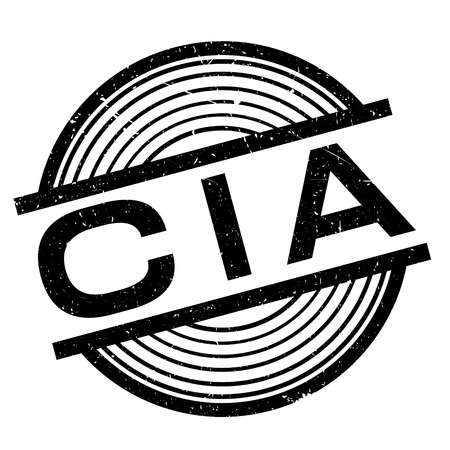 fbi: Cia rubber stamp. Grunge design with dust scratches. Effects can be easily removed for a clean, crisp look. Color is easily changed. Illustration