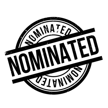 nominated: Nominated rubber stamp