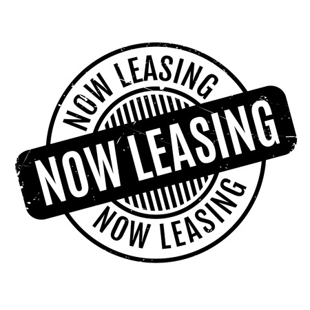 tenancy: Now Leasing rubber stamp