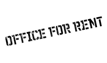 rent: Office For Rent rubber stamp