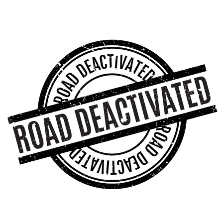highroad: Road Deactivated rubber stamp